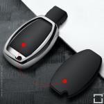 Glossy Silikon Schutzhülle passend für Mercedes-Benz Schlüssel  SEK8-M7