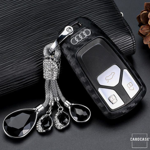 (Protective cover + crystal key chain)